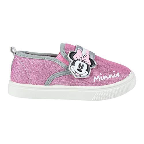 Cerdá Zapatilla Deportiva Minnie Mouse para Niña de Color Rosa, Niñas