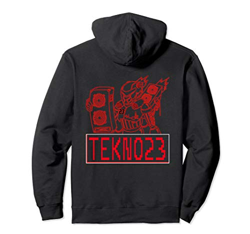 Tekno Bass Mecha 23 Hardtekk Frenchcore Teknival Geschenk Pullover Hoodie