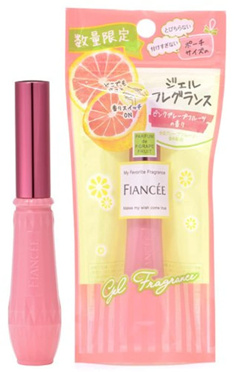 慎重債務ミシンフィアンセ ジェルフレグランス ピンクグレープフルーツの香り