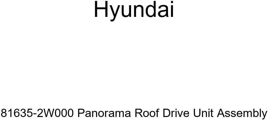 Genuine Hyundai Free Shipping New Max 46% OFF 81635-2W000 Panorama Roof Assembly Unit Drive