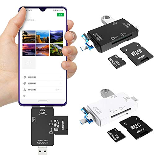 Sioneit Multifunktions-Kartenleser Unterstützt U-Disk TF SD Externe Geräte & Datenspeicher