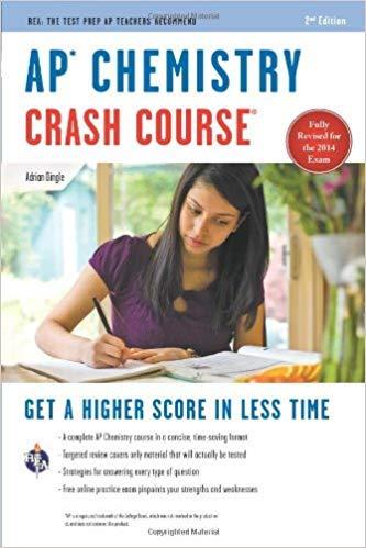 [0738611549] [9780738611549] AP Chemistry Crash Course,Book + Online (Advanced Placement (AP) Crash Course) 2nd Edition-Paperback