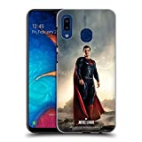 Official Justice League Movie Superman Character Posters Hard Back Case Compatible for Samsung Galaxy A20 / A30 (2019)