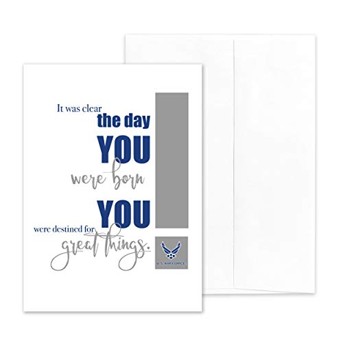 2MyHero - US Air Force - Military Appreciation Greeting Card With Envelope - 5