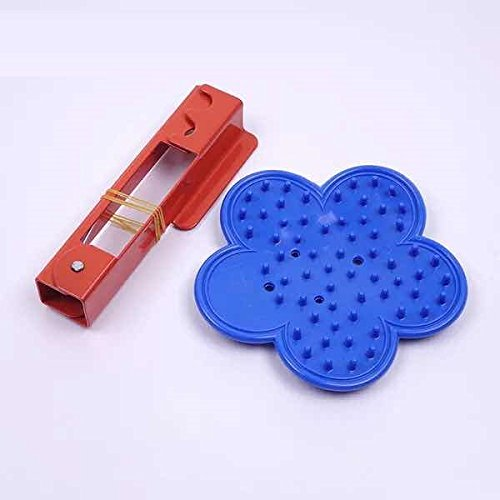 Blue Poly Rose Stripper and Red Thorn and Leaf Stripper Stripping Tool