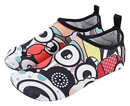 ZHJIUXING ST Hombre Zapatos de Agua Mujer Escarpines Surf Antideslizante Secado Rápido Natación Playa Zapatillas, A, 40-41 EU