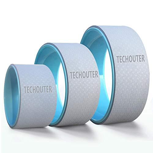 Techouter Yoga Wheel Set