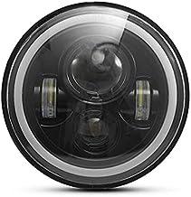 ZMMWDE1 pc 7 Inch Ronde 75 W LED Koplampen Hi/Lo, voor Motorfiets 97-18 JK TJ LJ Wrangle Motorfiets Jeep Koplamp dimlicht...