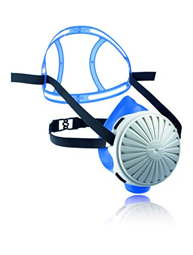 Dräger X-plore 2100 Set - Mehrweg-Atemschutzmaske aus Silikon + 5X FM P3 Filter | Größe M/L | Für giftige Stäube/Rauch/Aerosole