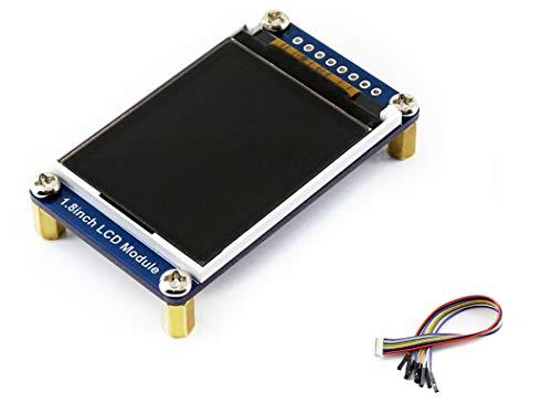 3,3 cm OLED-Display Hat 128 x 160 Pixel 4-SPI 3-Draht-SPI I2 C Schnittstelle Embedded Controller direct-pluggable für Raspberry Pi 2B/3B/Zero/Zero W mit Beispielen