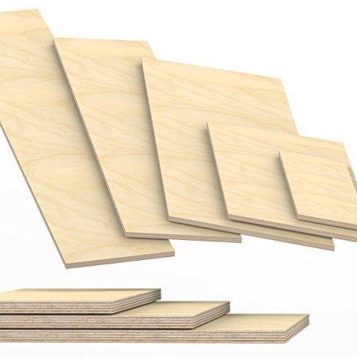 15mm Multiplex Zuschnitt Länge bis 200cm Multiplexplatten Zuschnitte Auswahl: 40x30 cm