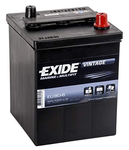 Exide vintage marine e Multifit Leisure batteria 80Ah