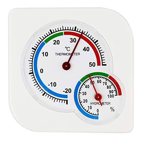 Thermometer LGMIN A7 Multifunktionales Innenwetterstation -20 Grad C - 50 Grad C Feuchtigkeits-Hygrometer Thermometer Start Temperatur-Messgerät, zufällige Farbe Lieferung Hohe Präzision
