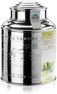 EARL GREY DECAF Ceylon - schwarzer Tee - im Tea Caddy Teedose - Durchmesser98 mm, Höhe 135mm 100g