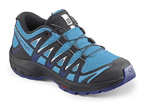 Salomon XA Pro 3D J, Zapatillas de Deporte Unisex niños, Azul (Ethereal Blue/Surf The Web/White), 32 EU