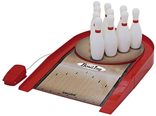 サクライ貿易 エンジョイファミリー ボーリング スピンボウリング 幅35x奥行54x高さ6cm 専用ボール1球・ピン10本付属 EFS-121