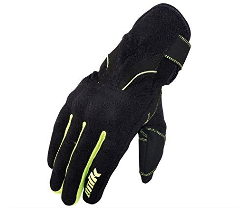 UNIK Winter C-53,Polartec Gloves Pair, Colour-Black, Size-Small Gants Homme, Noir/Fluo, s