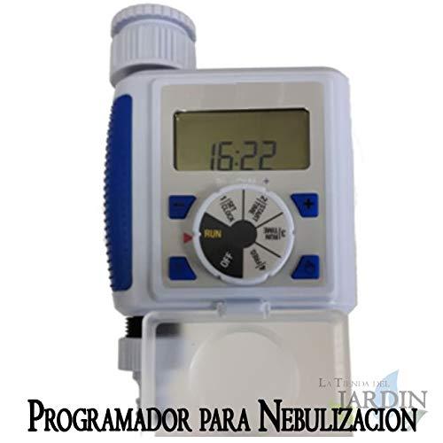 PROGRAMADOR DE GRIFO para NEBULIZACION y RIEGO. Temporizador Digital por...