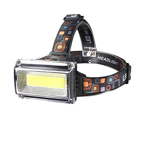 LED Stirnlampen 8000lm Leistungsstarke Cob Led Scheinwerfer DC wiederaufladbare Scheinwerfer Taschenlampe Scheinwerfer Wasserdichte Jagd Angelbeleuchtung