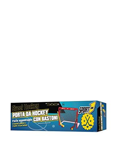 Sport One - Porta da Street Hockey con bastoni e Palle