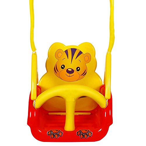 Panda Toyboy Panda Baby Swing - with Multiple Age Settings | 4 Stages | Red
