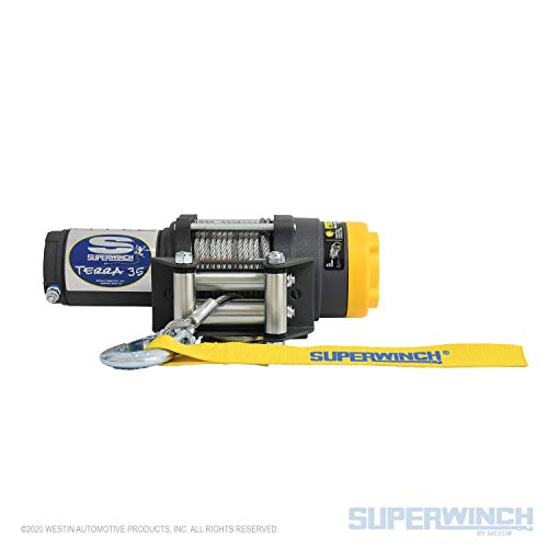 Our #1 Pick is the Superwinch 1135220 Terra 35 ATV Winch