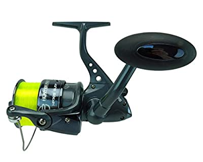Sea Fishing Reel Hunter Pro 70s Surf With 20lb Line Black Chrome Spool New! by Hunter Pro