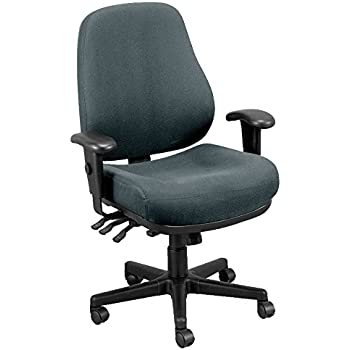 Eurotech Seating 4x4 SL 498SL-CH Seat Slider Swivel Chair Charcoal