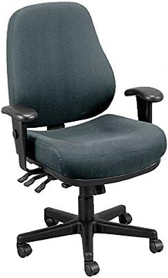 Eurotech Seating 24/7 24/7-CHARDOVE Swivel Charcoal Chair, Dove Charcoal