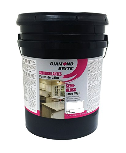 Diamond Brite Paint 21050 5-Gallon Semi Gloss Latex Paint High