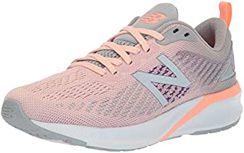 New Balance Women's 870 V5 Running Shoe, Peach Soda/Silver Mink, 11 M US