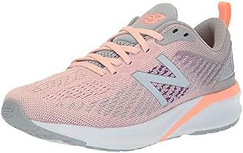 New Balance Women's 870 V5 Running Shoe, Peach Soda/Silver Mink, 5 M US