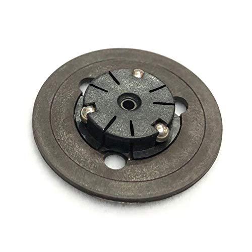 Hanshin Husillo Hub Turntable Accesorios de Reparación Profesional Práctica Tapa de Motor Pieza de Reemplazo de CD Durable Gaming Lens Disco de Cerámica Para PS1