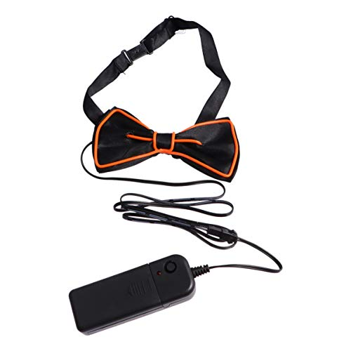 TENDYCOCO Noeuds Papillon pour Hommes Led Allumer Noeud...