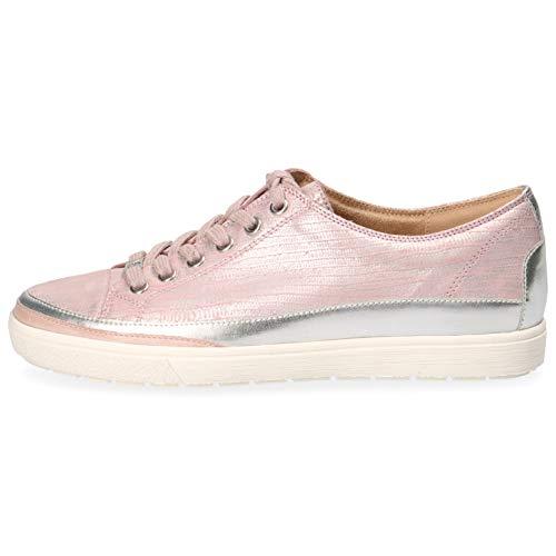 CAPRICE Damen Manou Sneaker, Pink (Rose Rept.Foil 517), 38.5 EU