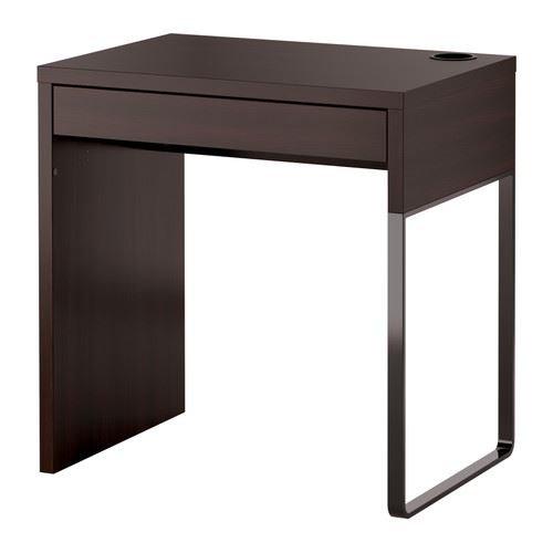 eLisa8 MICKE - Schreibtisch, Schwarzbraun