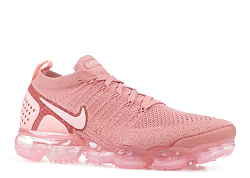 Price comparison product image Nike Women's WMNS Air Vapormax Flyknit 2,  Rust Pink / Storm Pink-Pink Tint,  9 M US