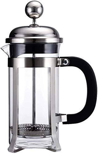 Caffettiere all'inglese Set di pentola di preparazione della mano del caffè, pentola di pressione francese, cabina di pressostato del caffè del filtro del caffè del flusso del flusso del flusso del tè