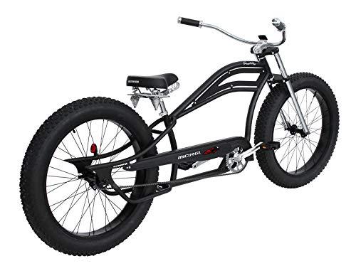 Micargi 26インチ レトロビーチクルーザーバイク シングルスピード ファットタイヤ 自転車 シアトル