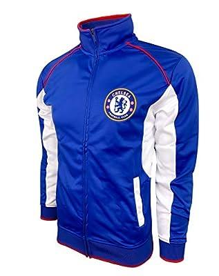 Chelsea Jacket, Adult Sizes, Licensed Chelsea FC Soccer Track Jacket (Large)
