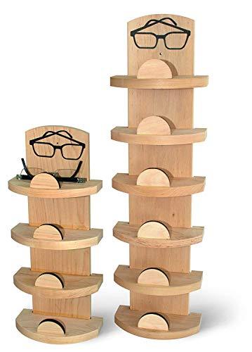 Sauna Spezial Brillenhalter für 6 Brillen Brillenablage 6-er Brillenregal