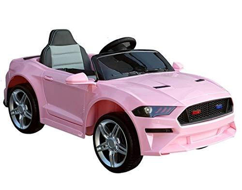 fit4form Kinder Elektroauto GT Raptor Pink Sports Cabrio Racer 12 V Kinderfahrzeug Kinderauto elektrisch rosa