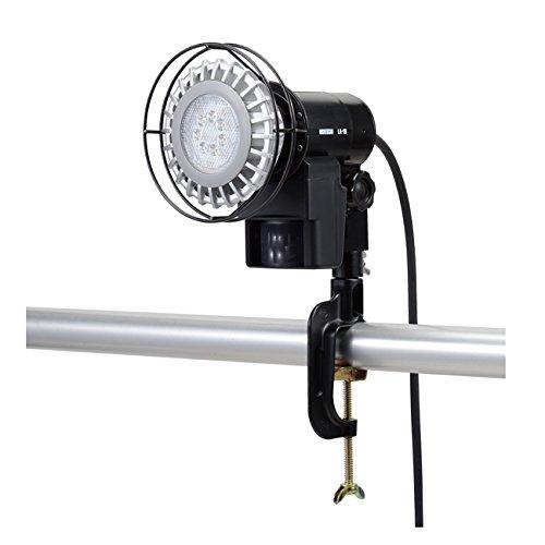 オプテックス LA-1LED(B) LEDセンサライトON/OFFタイプ