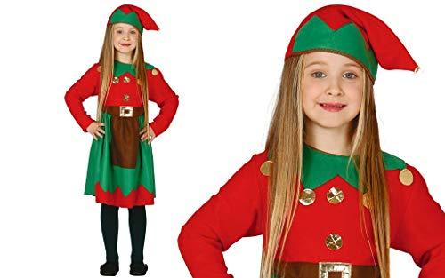 GUIRMA Costume da elfa Bambina Elfo