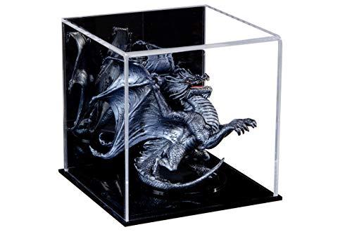 Better Display Cases Vielseitig Acryl Mirrored Vitrine, Würfel, Staubschutz und Riser 12,7 cm x 12,7 cm x 12,7 cm (A081-MDS)