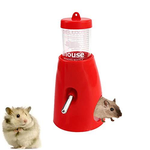 WPCASE Comedero Conejo Bebedero Hamster Botella De Agua Automática para Hámster Fuente para Beber A Prueba De Fugas Fuente para Beber Portátil para Mascotas
