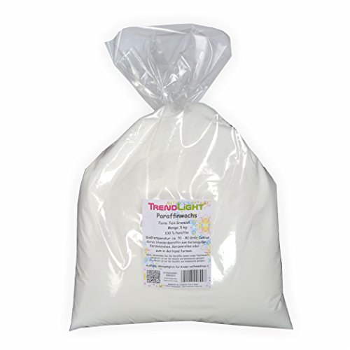Paraffin 5 kg - 100% rein - Markenqualität Paraffinwachs