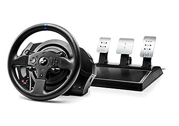 """2017年発売予定『GT SPORT』対応のレーシングホイールコントローラー! PlayStation (R) 4/PlayStation (R) 3オフィシャルライセンス商品 ・産業用ブラシレスモーター搭載による次世代フォースフィード バック機能 ・摩擦が少なく滑らかなデュアルベルト式機構 ・ホイールの回転角は車種により270から1080まで調整可能 ・ステアリング、ペダル交換拡張システム*""""Eco System""""対応 ・大きな可動域とアクセル、クラッチのポジションセッティングが可能なメタル仕..."""