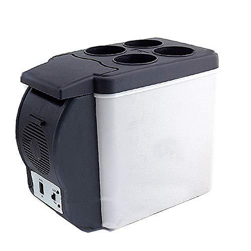 huihuijia 6 litros PortáTil Coche FrigoríFicos Congelador De Viaje Mini Neveras 220V/12V para Enfriar Y Calentar
