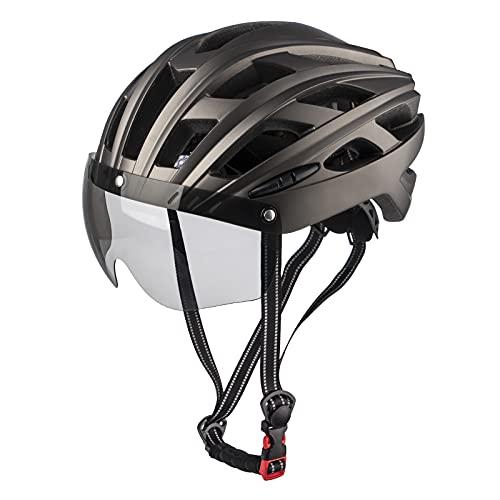 MOKFIRE Casco de Bicicleta para Adultos Casco de Ciclismo de